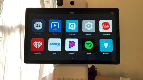 Facebook's Portal Plus cameras offer few apps at launch,
