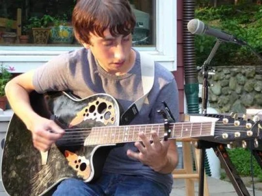 Submitted photo Justin Veatch, an aspiring musician,