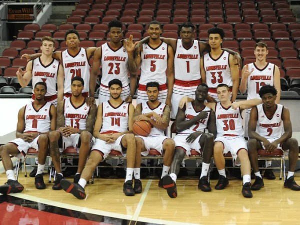 Scenes from Louisville basketball's 2017-18 Media Day session