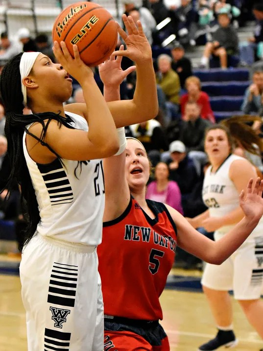 West York vs New Oxford girls basketball