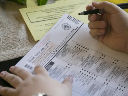 Maricopa County Recorder Adrian Fontes says voter-registration