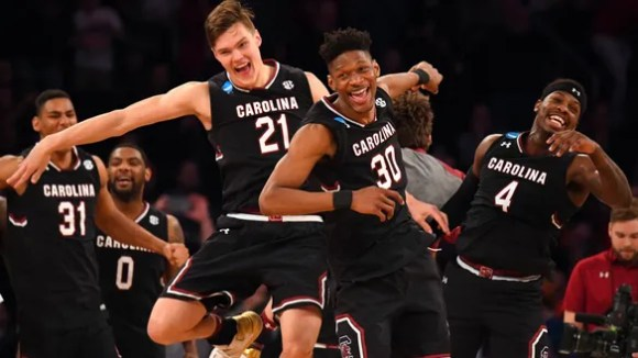 South Carolina showed total class after blowing out Baylor in the Sweet 16