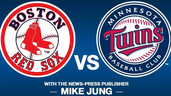 Red Sox VS Twins with The News-Press Publisher