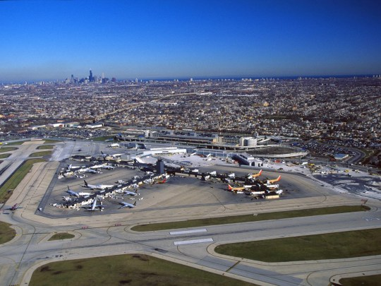 A passenger with a confirmed measles diagnosis passed through Chicago's Midway airport on Feb. 22 − andif you were there that night, you might have been exposed.