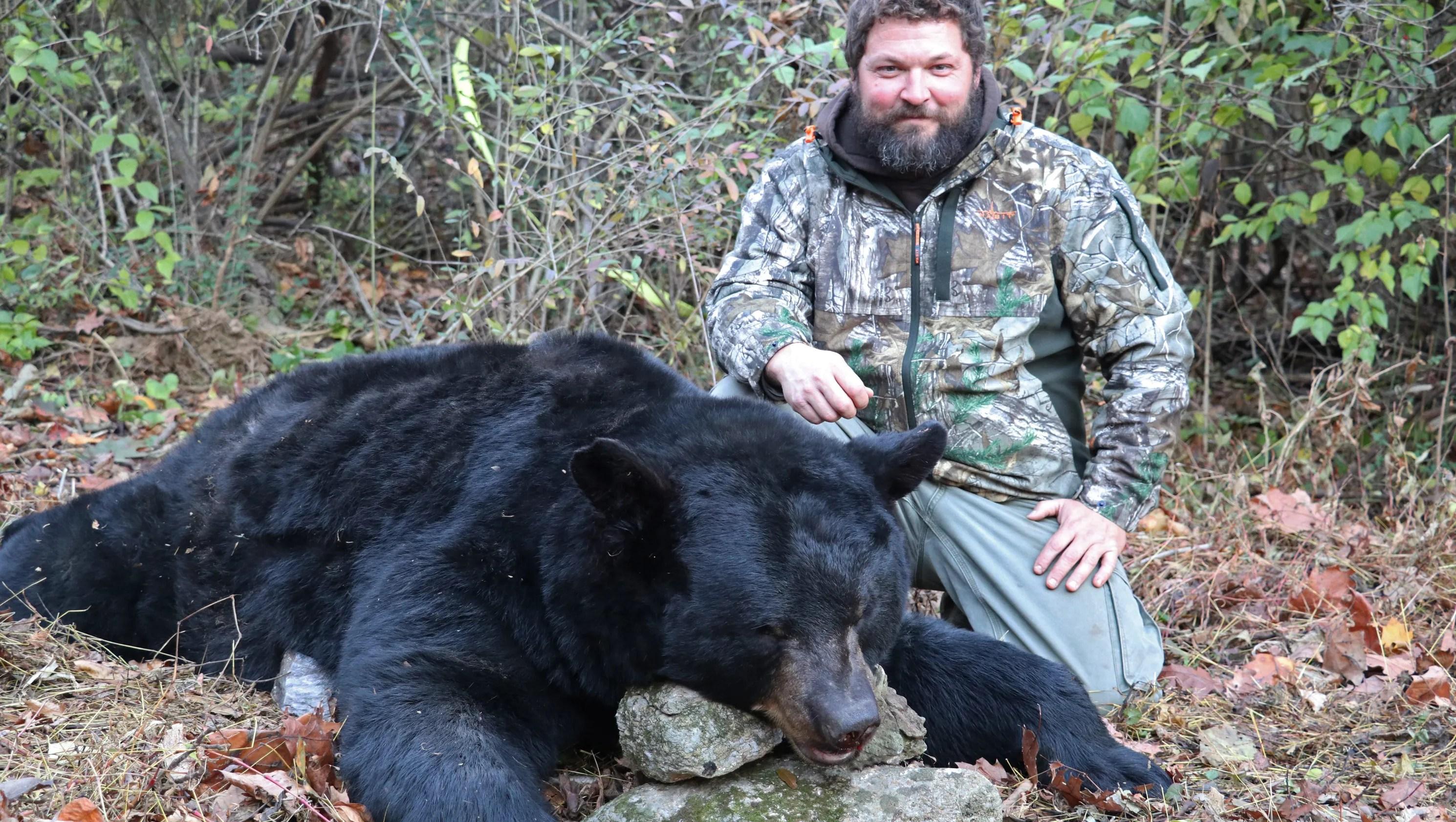 844 Lb Pa Black Bear