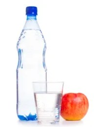 Kids should drink water throughout the day, in addition