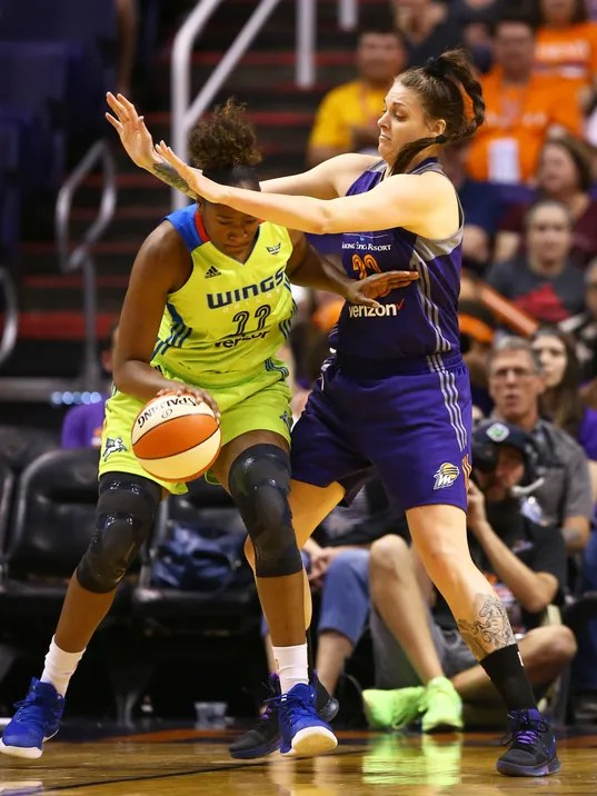 Dallas Wings vs. Phoenix Mercury 2017
