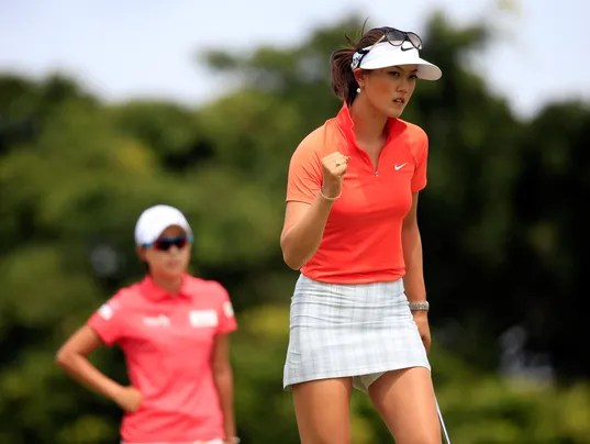 Michelle Wie says she's grateful after win in Hawaii