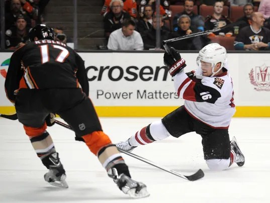 NHL: Arizona Coyotes at Anaheim Ducks