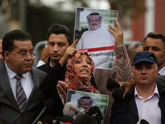 AP APTOPIX TURKEY SAUDI MISSING WRITER I TUR