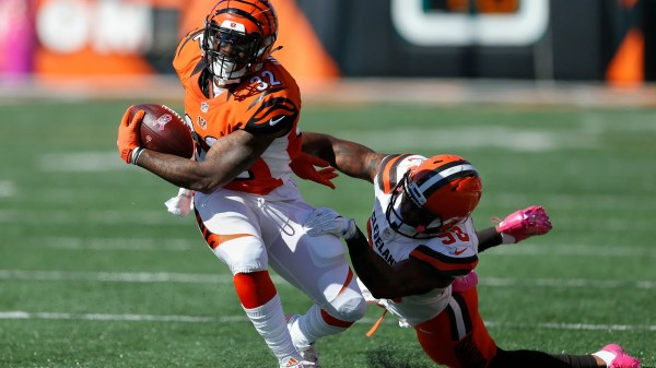 Green's catch highlights Bengals' 31-17 win over Browns