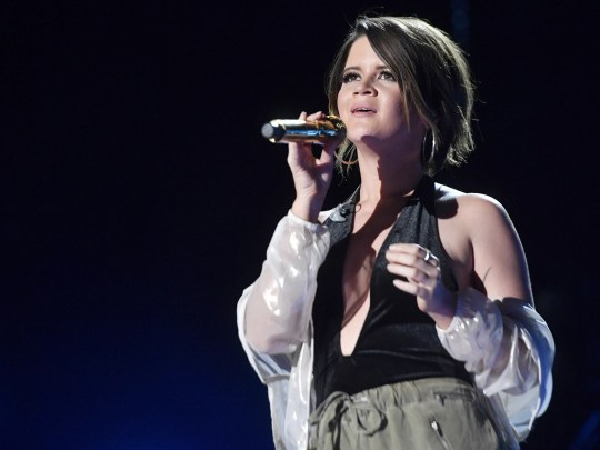 Maren Morris performs at Nissan Stadium on the third