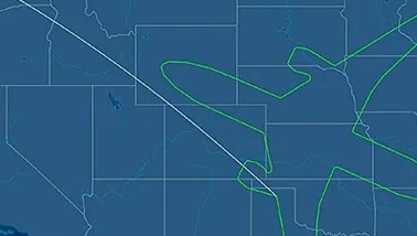 HD Decor Images » Boeing  18 hour test flight traces shape of 787 across USA