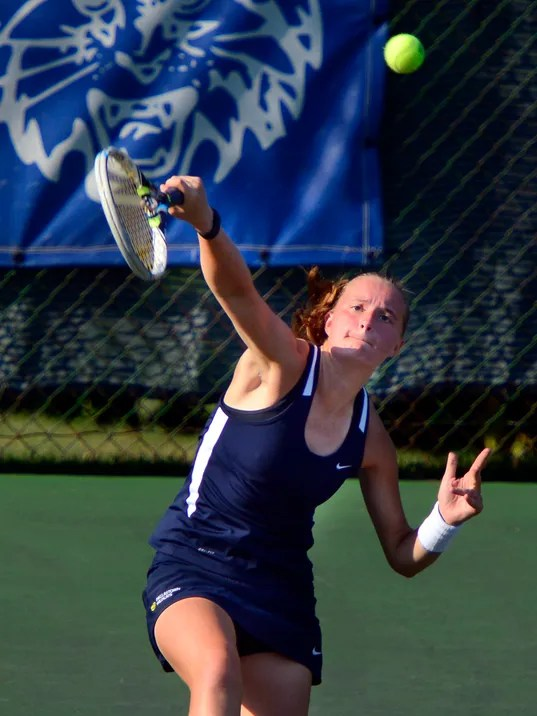 New Oxford vs Dallastown girls' tennis