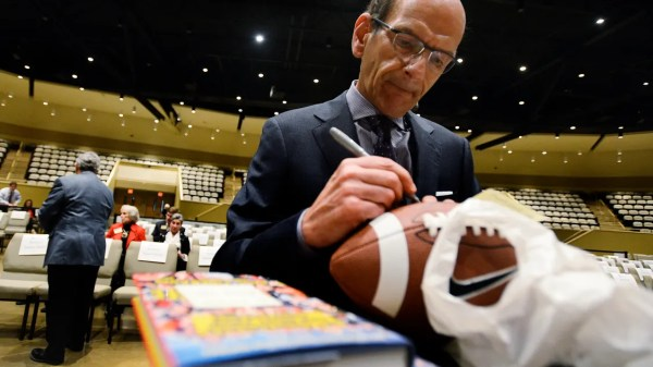 Finebaum dealt with scarier things than wacky callers