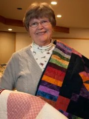 Las Colcheras Quilt Guild member Stephanie Cadena is