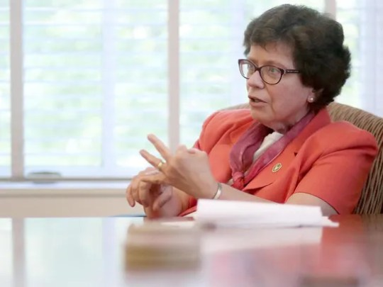 University of Wisconsin Chancellor Rebecca Blank