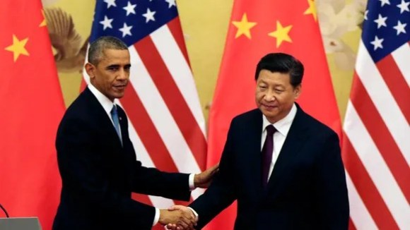 President Obama Chinese counterpart Xi Jinping in 2014.