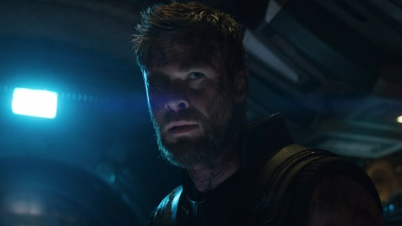 """Thor (Chris Hemsworth) watched his magical hammer get destroyed in """"Ragnarok,"""" but the thunder god got a new weapon in """"Avengers: Infinity War."""""""