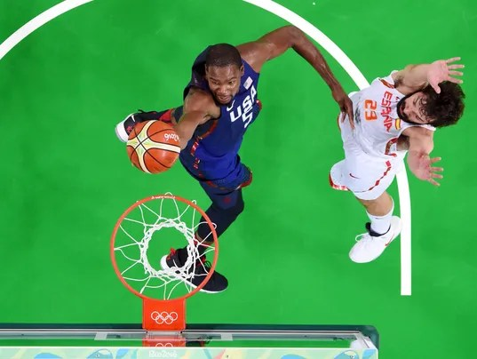 USA men's basketball team advances to gold medal game with ...