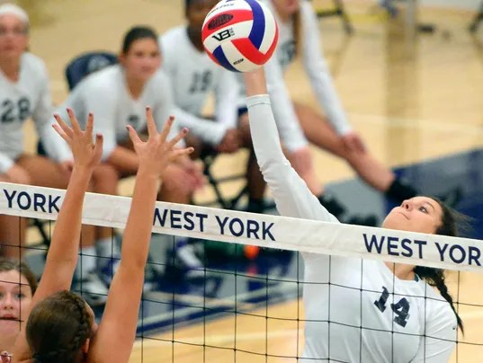 Susquehannock vs West York girls' volleyball