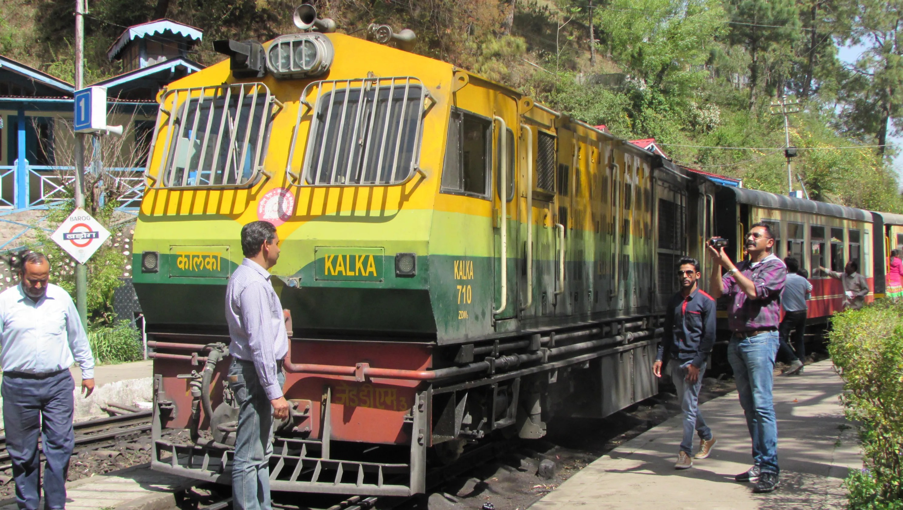 All Aboard The Toy Train To The Foothills Of The Himalayas
