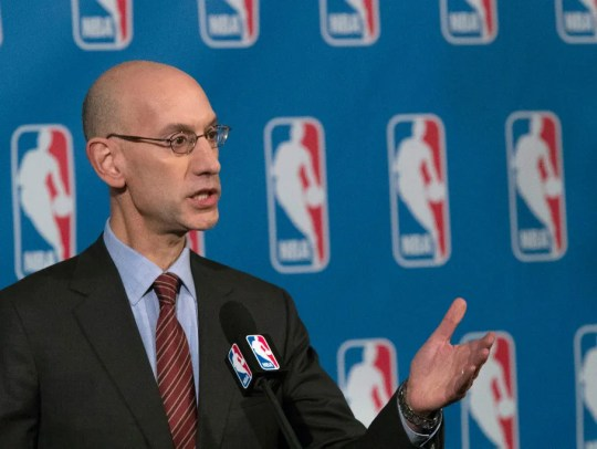 NBA Commissioner Adam Silver supports the legalization of sports betting, if the gambling is regulated on the federal level.