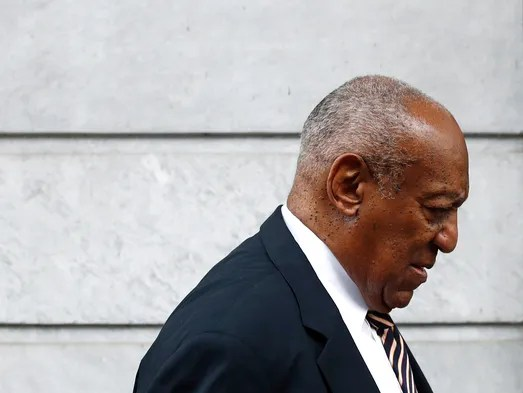 Bill Cosby arrives for a third day of jury deliberations