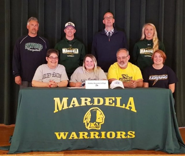 Next To Friends Family And Coaches Kasey Goshorn