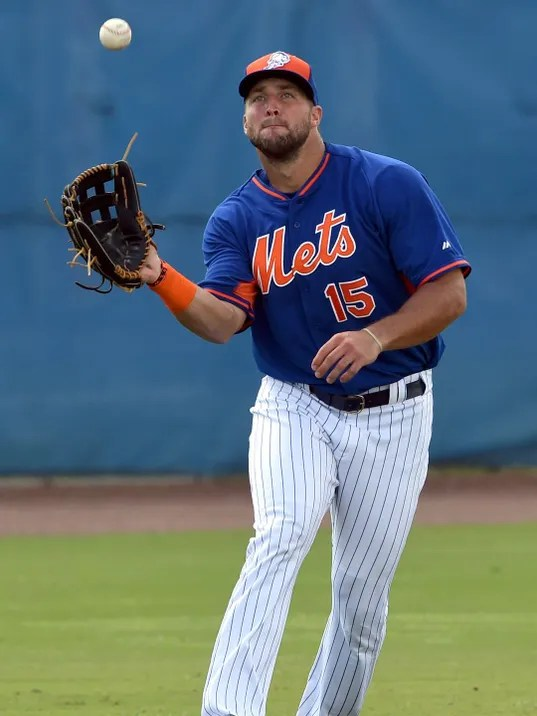 Mets' Tebow has another hit in game vs. Cardinals