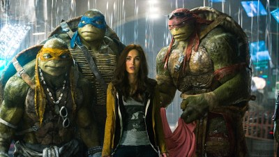 Michael Bay's muddy footprints were all over the uninspired Teenage Mutant Ninja Turtles reboot