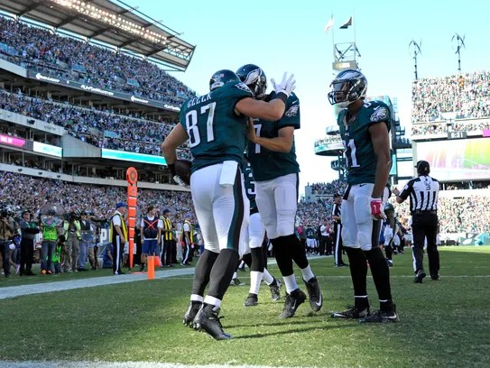 Sam Bradford and the Eagles finally got on track against