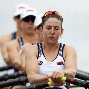Michigan pair not conceding to favored British rowers