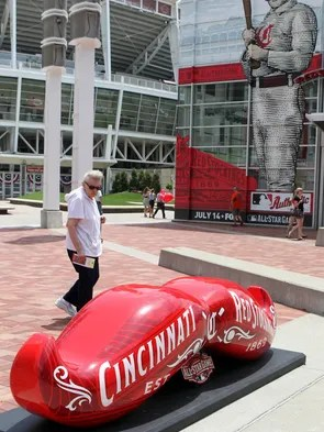 All Star Game Mustache Statues Unveiled At 10 Locations