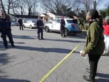 AP OFFICER SHOOTING NORTH CAROLINA A USA NC
