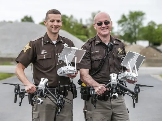 Indiana police departments want drones. There's just one ...