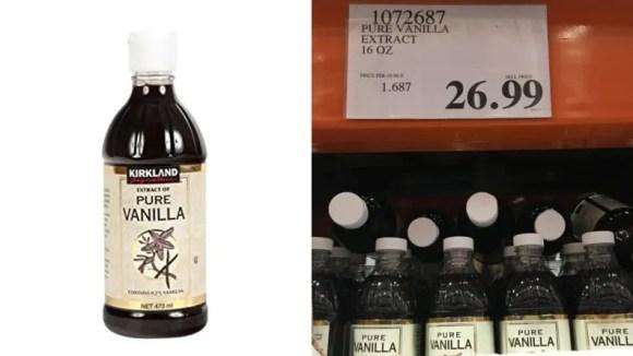 Diese Flasche Vanille wird Bäcker für immer halten.