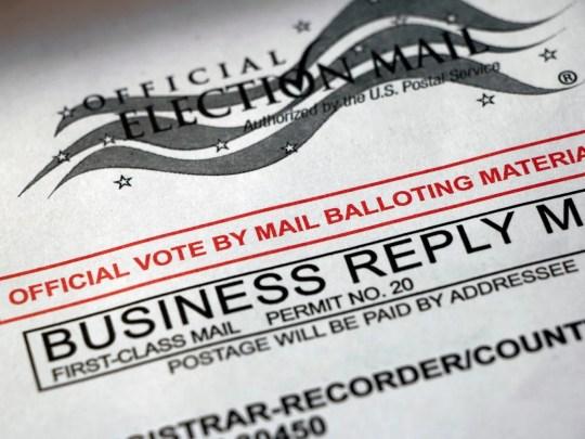 vote by mail ballot.