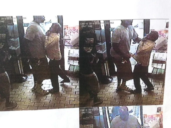 Surveillance photos provided by Ferguson Police Department.
