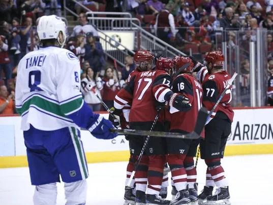 Arizona Coyotes vs. Vancouver Canucks