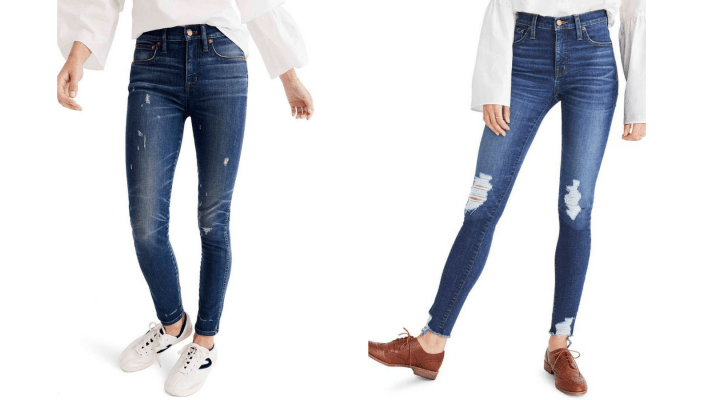 Best gifts for women: Madewell Jeans