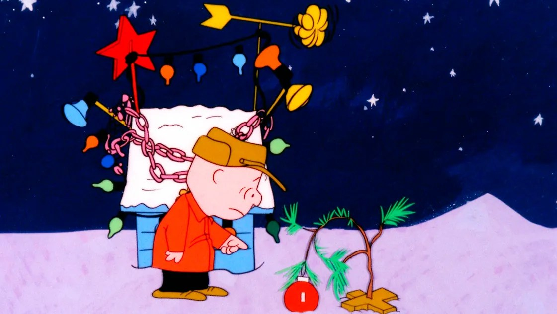 Image result for A Charlie Brown Christmas.