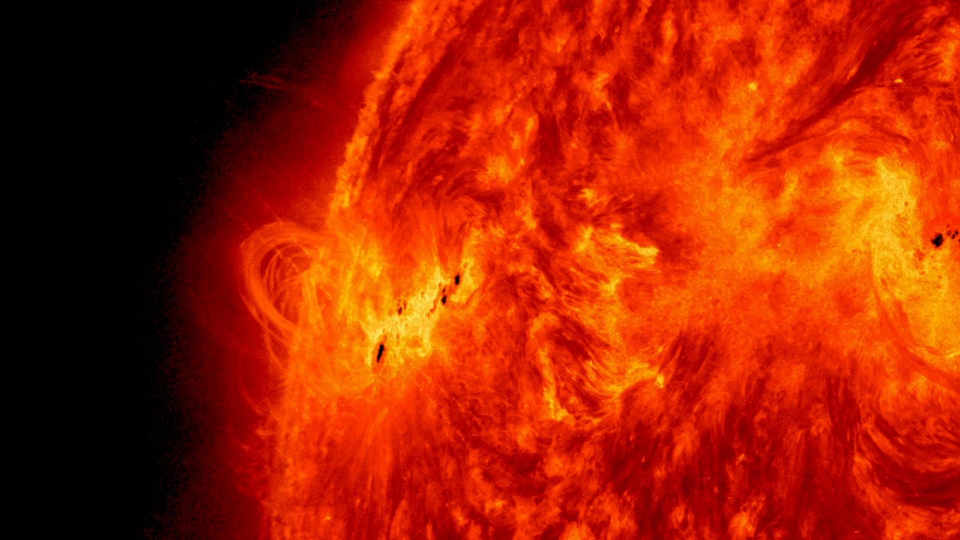 Solar Flare Poses Huge Threat Column