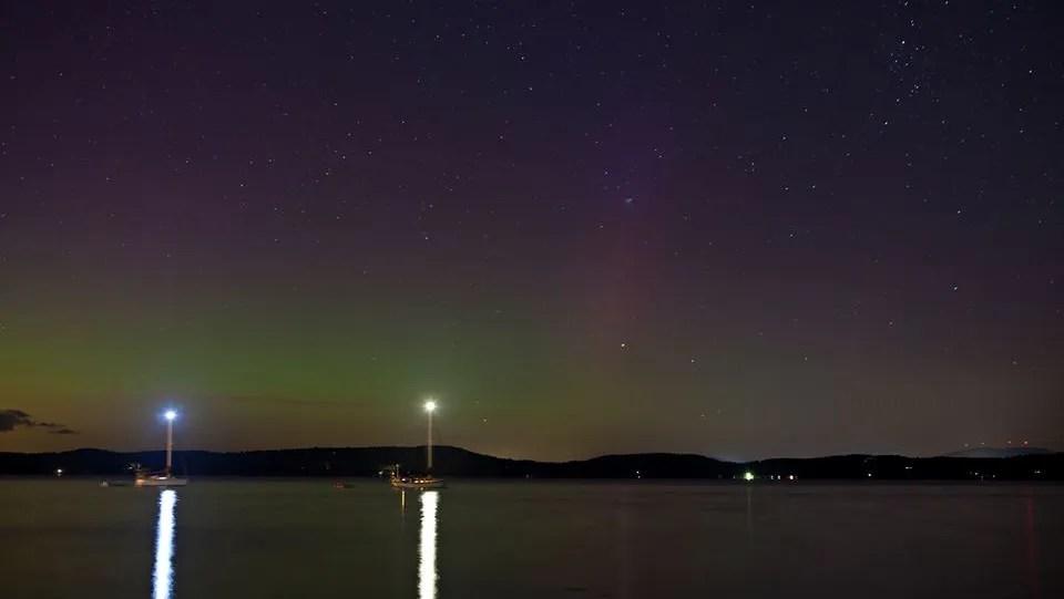Northern Lights Burlington Vermont