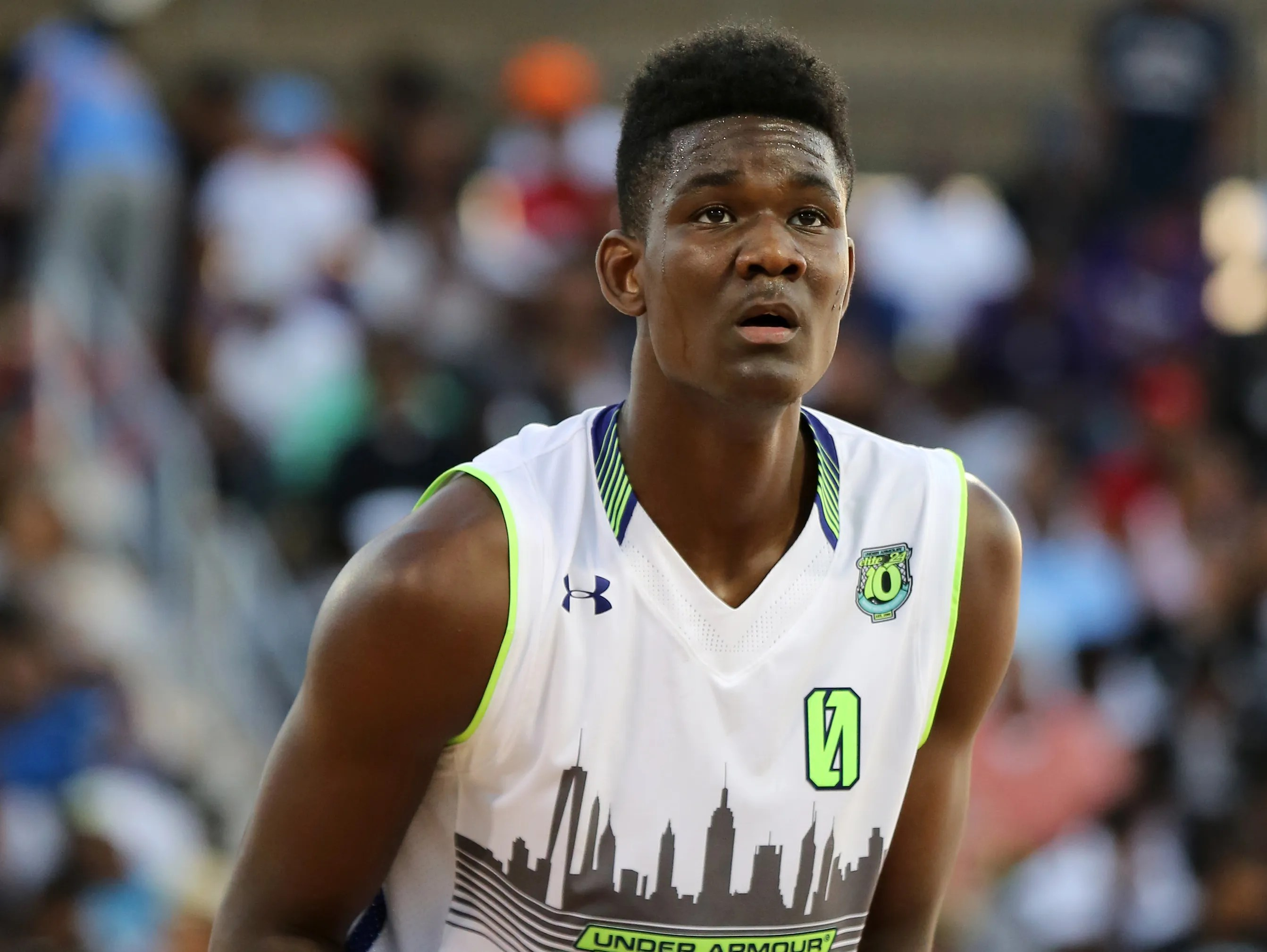 d83e244ff91 Hillcrest Hoops courting top 2017 prospect DeAndre Ayton to join Marvin  Bagley III
