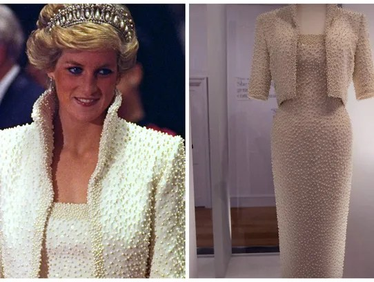 Princess Diana's 'Elvis dress' in Hong Kong in 1989