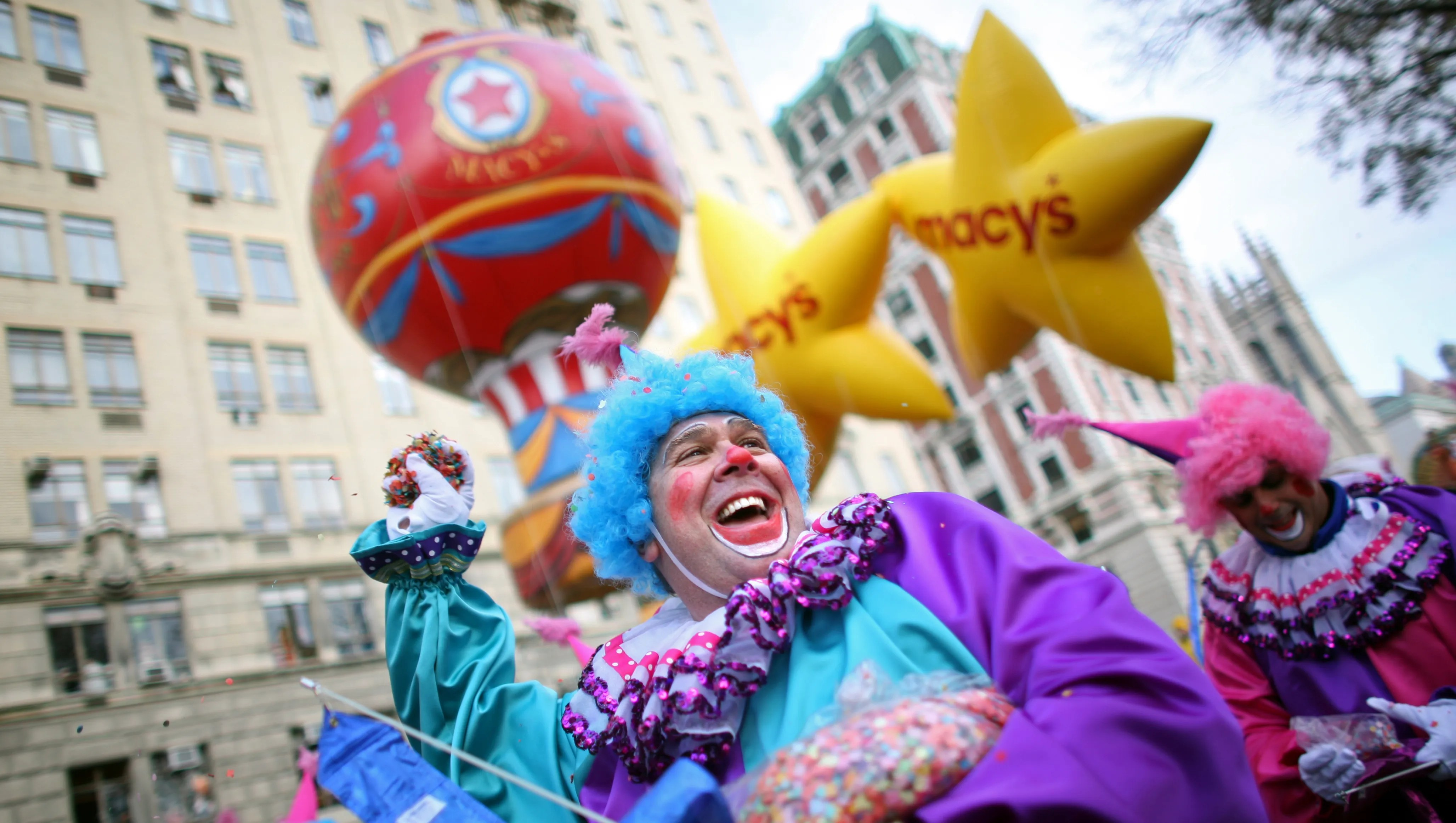 Get a front row seat for Macy's Thanksgiving Day Parade