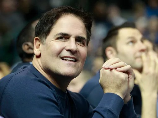 Mark Cuban, owner of the Dallas Mavericks and a tech