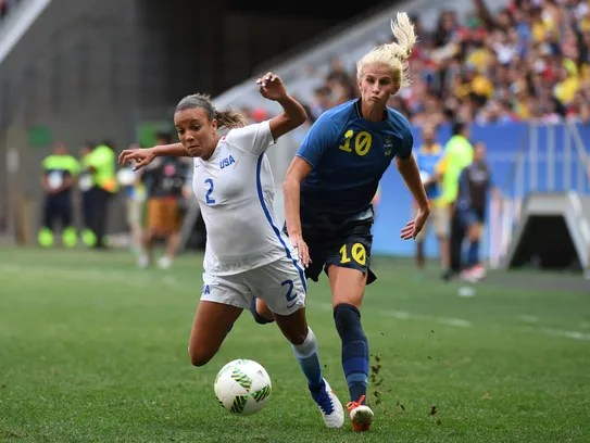 U.S. women's soccer out of Rio Olympics after stunning ...