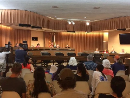 The Tucson City Council unanimously approved a resolution